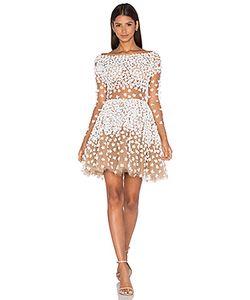 Patricia Bonaldi | Long Sleeve Floral Embellished Mini Dress