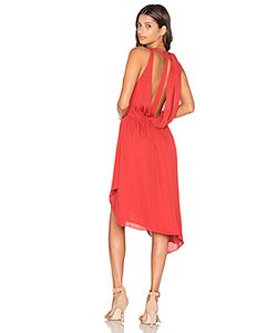 Haute Hippie | Sleeveless Handkerchief Wrap Mini Dress