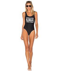Aila Blue   Слитный Купальник Aloha