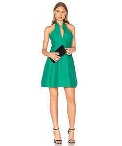 Halston Heritage | Organic Notch Neck Dress