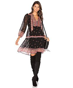 Joie   Шелковое Платье Alpina