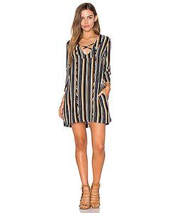 Lucca Couture | Цельнокройное Платье На Шнуровке С Рукавами-Колокол