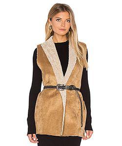 Velvet by Graham & Spencer | Royce Vest With Faux Fur Lining Velvet By Graham
