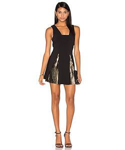 By Johnny | Foil Fringe Panel Dress