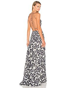 ANIMALE | Платье-Макси С Открытой Спиной