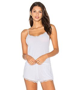 Only Hearts | Feather Weight Rib Lace Trim Cami