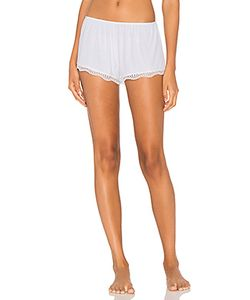 Only Hearts | Feather Weight Rib Lace Trim Sleep Short