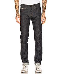 Naked & Famous Denim | Super Skinny Guy Chinese New Year Fire Rooster 12.5oz Naked