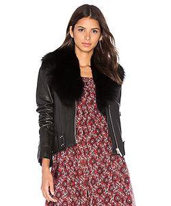 NOUR HAMMOUR | Nada Fox Fur Collar Jacket