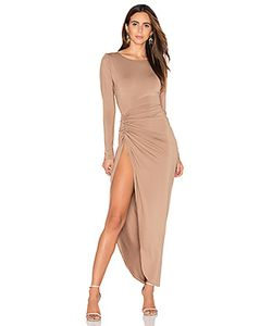 LIONESS | Amore Split Maxi Dress