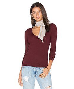 360 Sweater | Свитер С V-Образной Горловиной Linde
