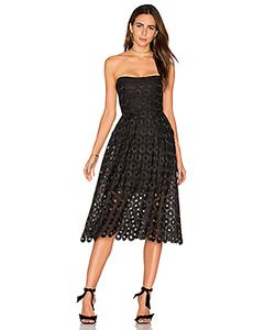 Nicholas | Spot Lace Ball Dress