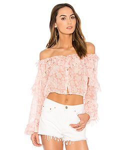 LoveShackFancy | Ruffle Popover Top