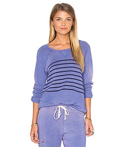 Sundry | Raglan Striped Sweatshirt