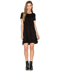 Bishop + Young | Short Sleeve Knit Suede Dress
