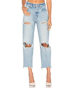 Moussy | Distressed Straight