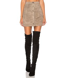 Bb Dakota | Jack By Callister Faux Suede Mini Skirt Bb