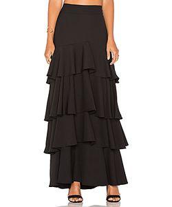 Lucy Paris | Liane Ruffled Skirt