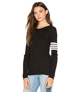 360 Sweater | Aliz Stripe Band Sweater