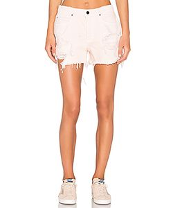 DENIM x ALEXANDER WANG | Romp Oversized Short