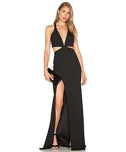 Michelle Mason | Cut Out Plunge Gown