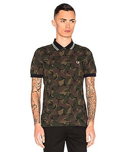Fred Perry | Camoflauge Pique Polo