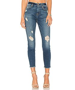 7 for all mankind | High Waist Ankle Skinny