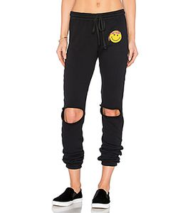 Lauren Moshi | Sherri Happy Hippie Patch Sweatpant