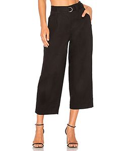 T By Alexander Wang | Belted Crop Waist Pant