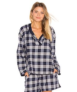 Skin | Plaid Pullover