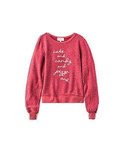 Wildfox Couture   Baggy Beach Cake Candy Top