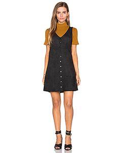 Fifteen Twenty | V-Neck Suede Dress