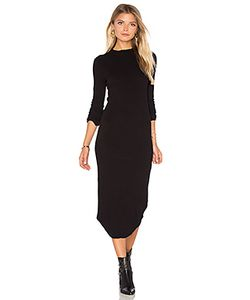 Monrow | Mock Neck Long Sleeve Dress