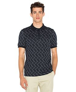 Raf Simons Fred Perry   Abstract Jacquard Pique Shirt Fred Perry X Raf Simons