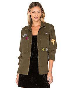 A Gold E | X Revolve Stella Utility Shirt Jacket Agolde