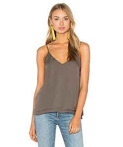 Heather | Silk Double Layer Pleat Cami