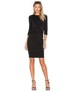 EGREY | Shirred 3/4 Sleeve Dress