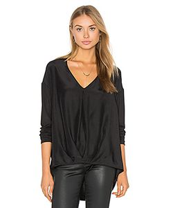 Heather | Silk Tuck Front Top