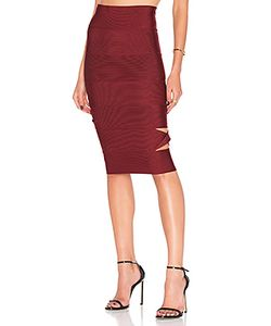 LOLITTA | Sophia Cut Out Midi Skirt