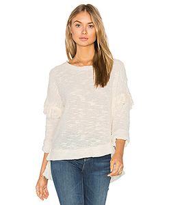maven west | Drop Shoulder Fringe Sweater