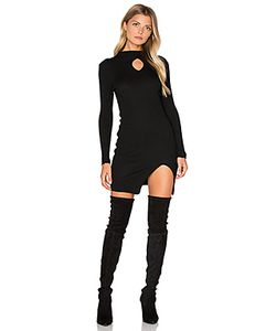 J.O.A. | Платье С Овальным Вырезом Спереди И Длинным Рукавом