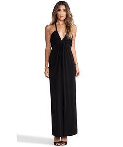 T-Bags LosAngeles | Платье-Макси С Глубоким V-Образным Вырезом