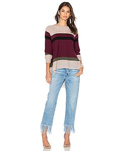 Wilt | Blocked Stripe Shifted Sweater