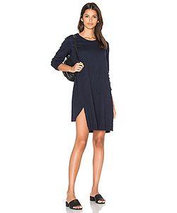 Wilt | Long Sleeve Shifted Trapeze Dress