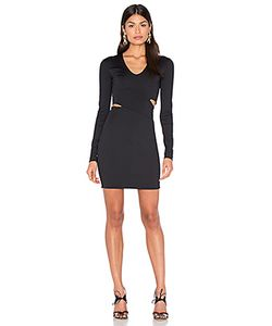 T By Alexander Wang | Lux Ponte Slit Dress