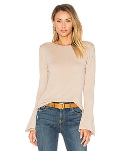 Central Park West | Vienna Cashmere Bell Sleeve Sweater