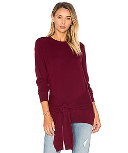 Autumn Cashmere | Tie Front Sweater