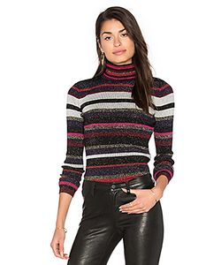 Diane Von Furstenberg | Leela Metallic Turtleneck Sweater
