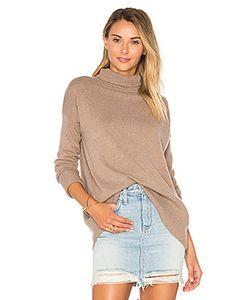 Autumn Cashmere | High Low Turtleneck Sweater