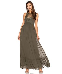 Twelfth Street By Cynthia Vincent | Front Embellishment Maxi Dress